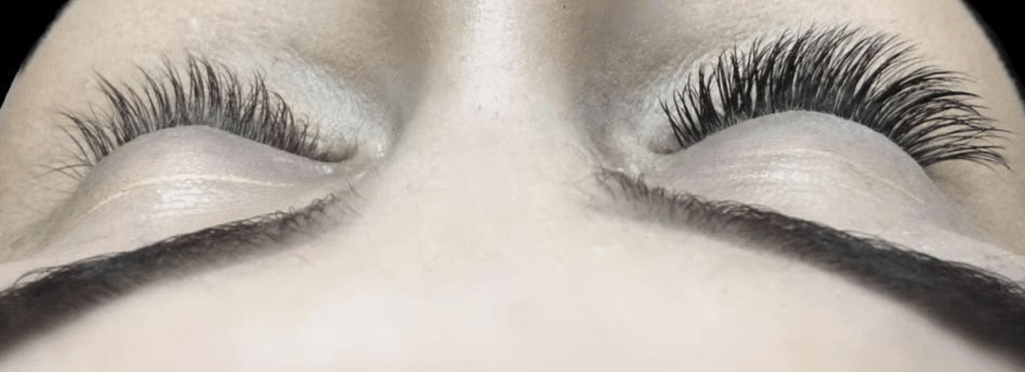 why lash extensions with lilly bell lashes before and after